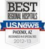 US News and World Report Best Regional Hospital